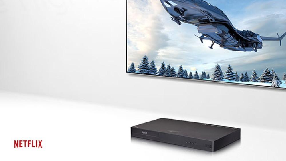 LG UP970: Το νέο πρωτοποριακό 4K Ultra HD Blu-ray Player με Multi HDR έρχεται στην Ελλάδα για να εντυπωσιάσει