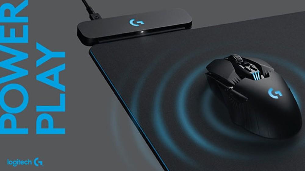 Logitech PowerPlay: Νέο mousepad που φορτίζει ασύρματα το mouse σας ενώ παίζετε!