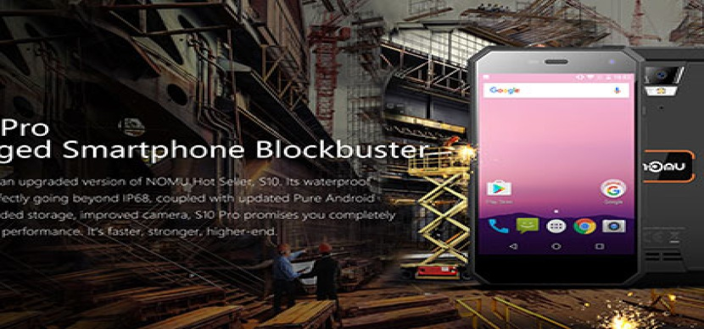 NOMU S10 Pro: Αποκαλύφθηκαν τα τεχνικά χαρακτηριστικά του προσιτού θωρακισμένου smartphone