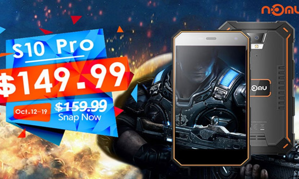 NOMU S10 Pro: Το θωρακισμένο smartphone για λίγες ημέρες σε τιμή €125.99