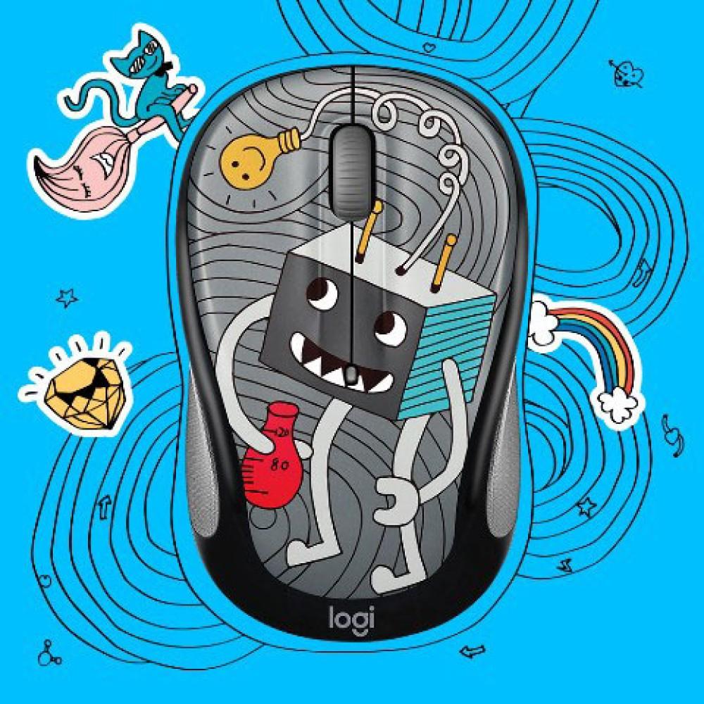 Logitech 2017 Doodle Collection: Τα νέα ποντίκια Doodle απευθύνονται στο παιδί που κρύβουμε όλοι μέσα μας