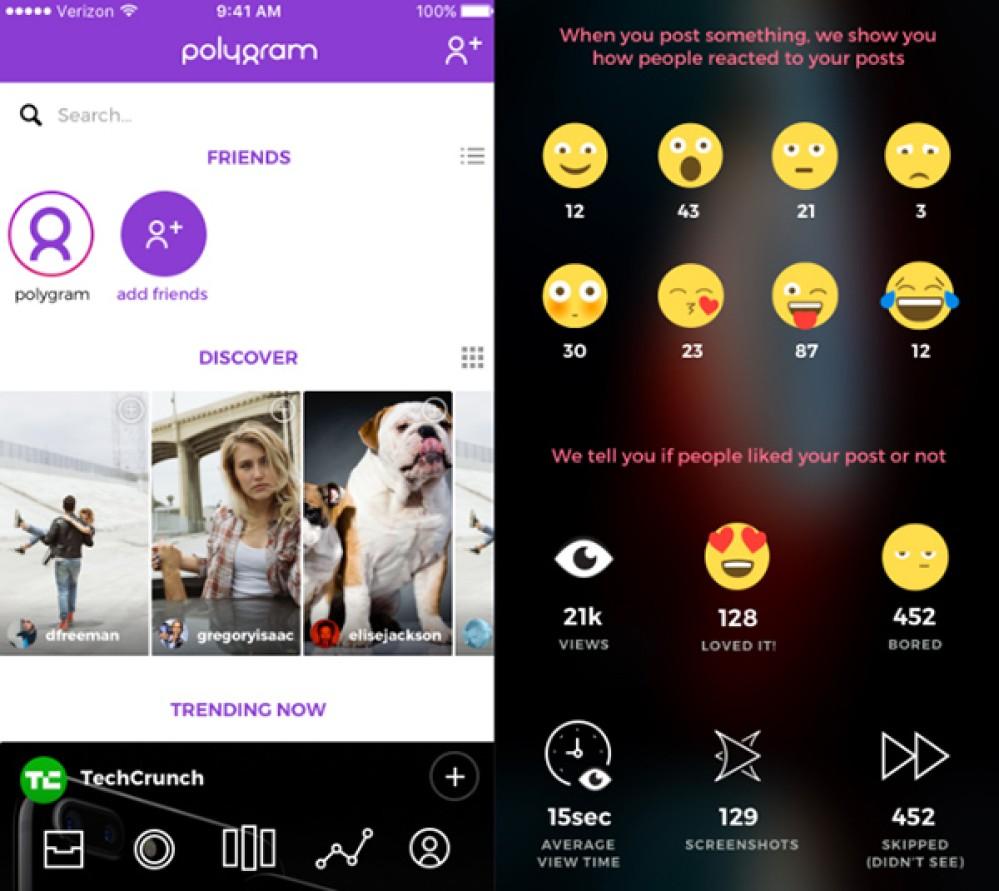 Polygram: Το κοινωνικό δίκτυο που βλέπει τις εκφράσεις σας [Video]
