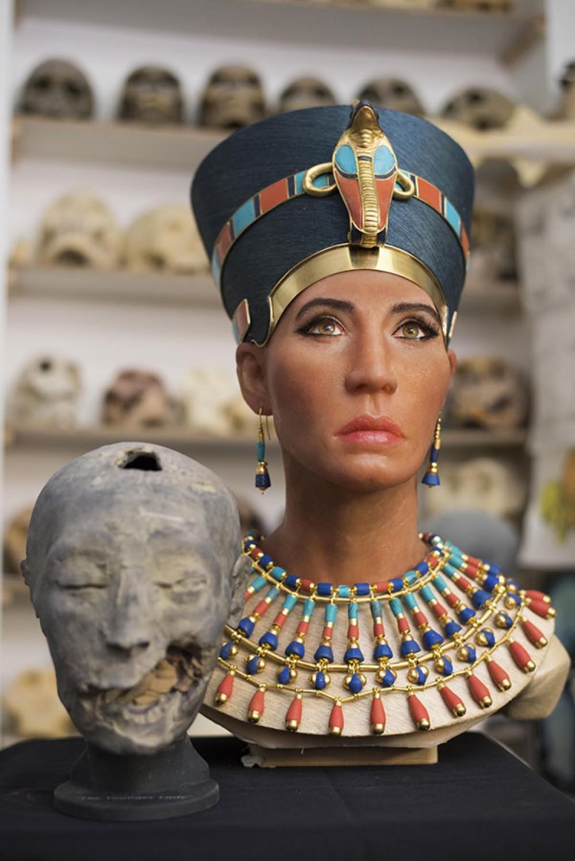 Αποκάλυψη του προσώπου της Βασίλισσας Νεφερτίτη με τεχνολογία 3D imaging