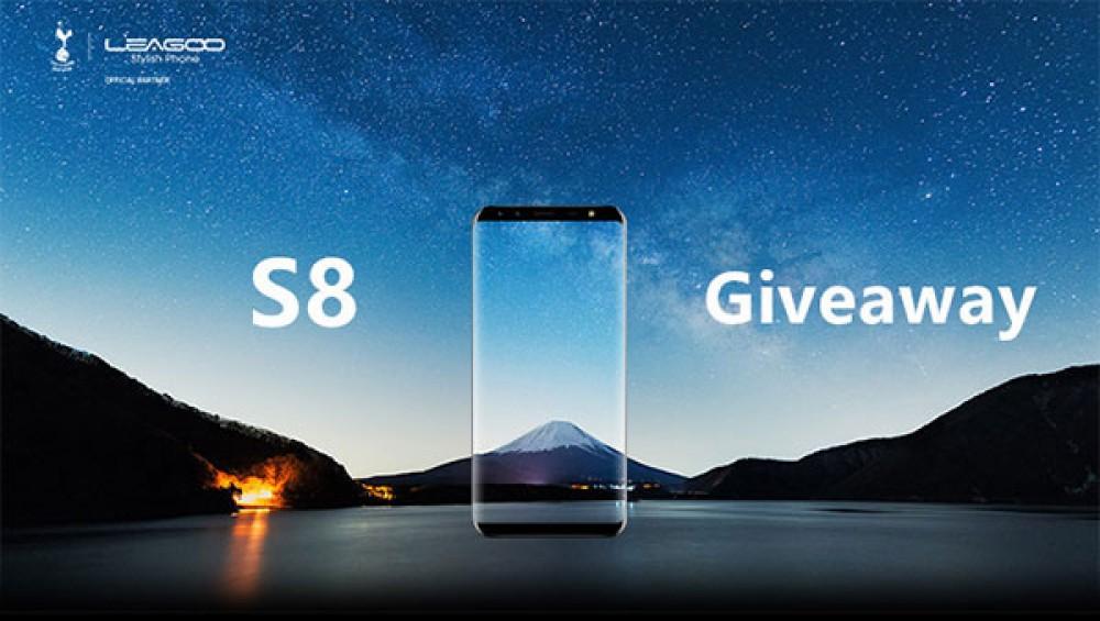 Κέρδισε το LEAGOO S8, τον πανέμορφο κλώνο του Galaxy S8! [Winner!]