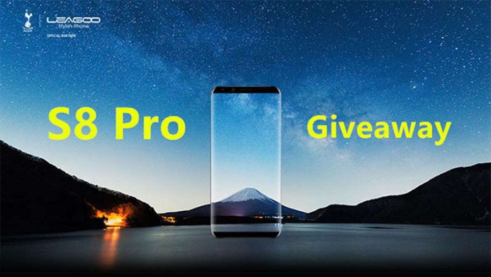 Κέρδισε το LEAGOO S8 Pro, το ακόμη πιο ισχυρό bezel-less smartphone της εταιρείας [Winner!]