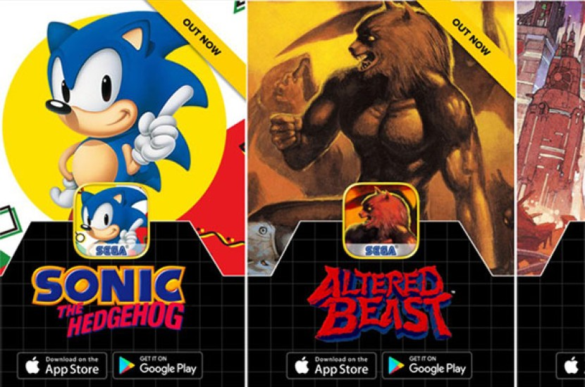 SEGA Forever: Τα κλασικά games της εταιρείας (Sonic, Altered Beast κλπ.) δωρεάν για Android και iOS! [Video]