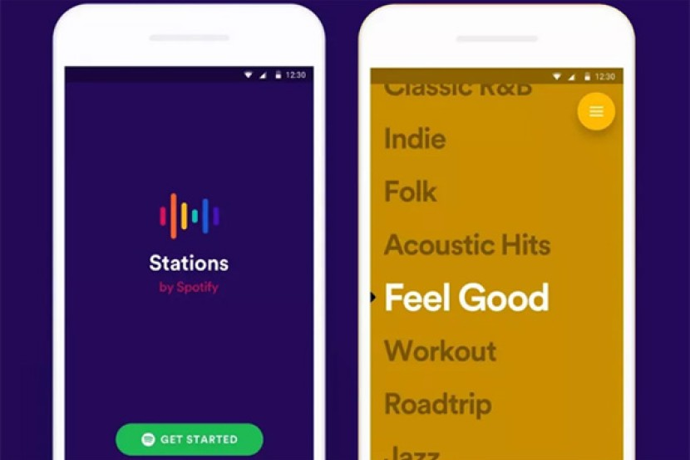 Spotify Stations: Η νέα δωρεάν εφαρμογή για να ακούς μόνο playlists