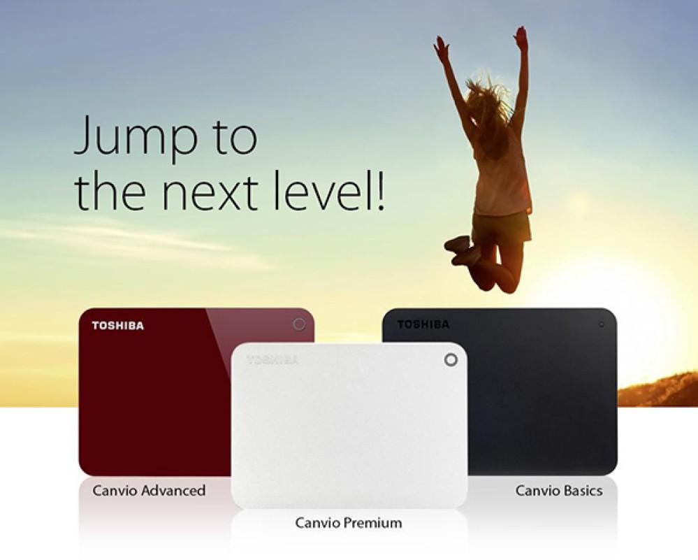 Toshiba Canvio: Η νέα εξελιγμένη γενιά φορητών σκληρών δίσκων με χωρητικότητες έως 3TB