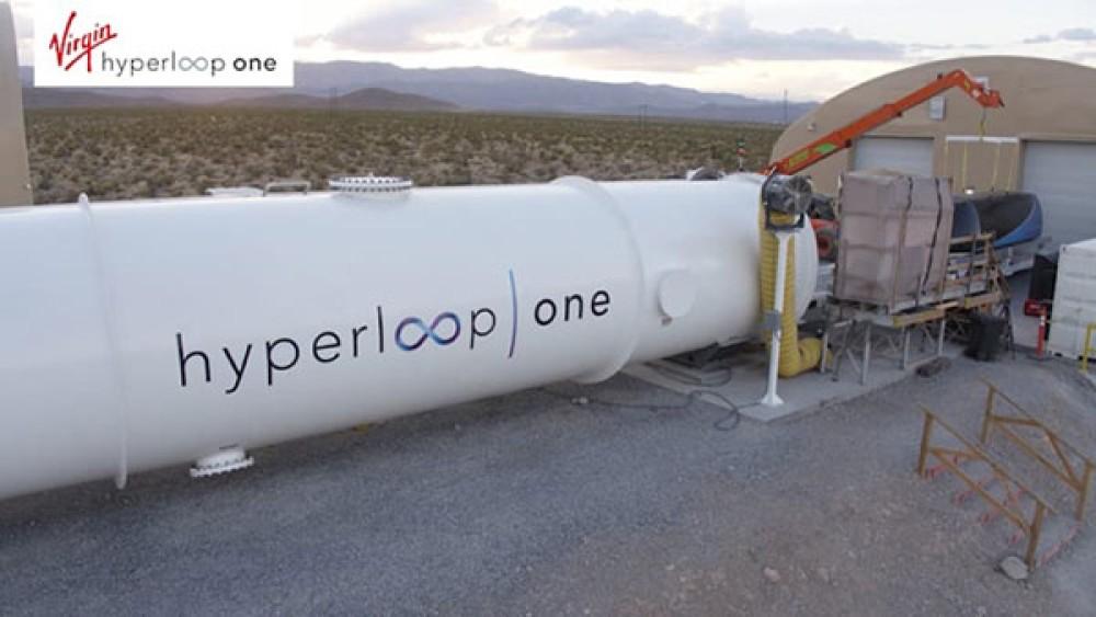 Hyperloop One: Το τραίνο του μέλλοντος πλησιάζει χάριν στην τεράστια επένδυση της Virgin Group του Richard Branson