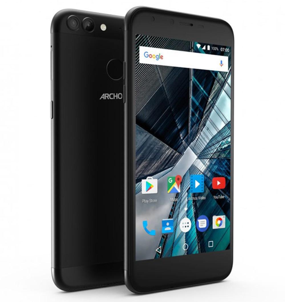 Archos 50/55 Graphite: Τα νέα πολύ προσιτά smartphones με διπλή κάμερα και Android 7.0 Nougat