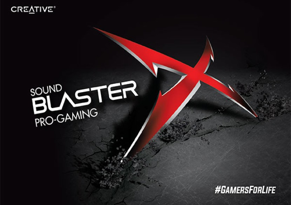 SoundBlasterX Pro-Gaming: Η ολοκληρωμένη gaming σειρά της Creative