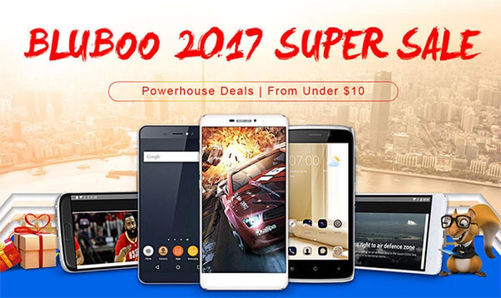 Τρομερές προσφορές σε όλα τα smartphones της Bluboo για το επόμενο δεκαπενθήμερο