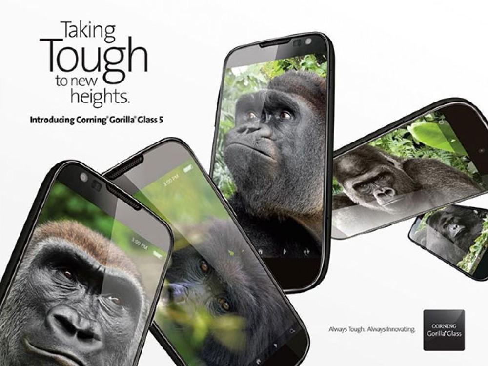 Gorilla Glass 5: Η νέα επικάλυψη προσφέρει αντοχή των smartphones σε πτώσεις από ύψος έως 1.6m [Video]