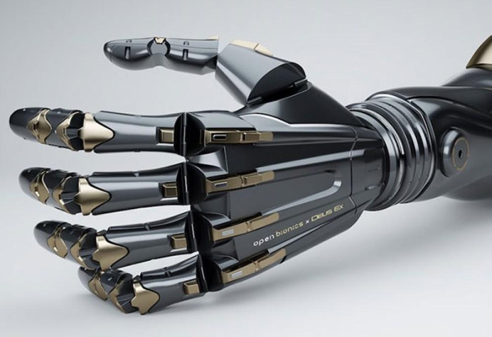 Πρόσθετα χέρια για ακρωτηριασμένους εμπνευσμένα από τον κόσμο του Deus Ex [Video]