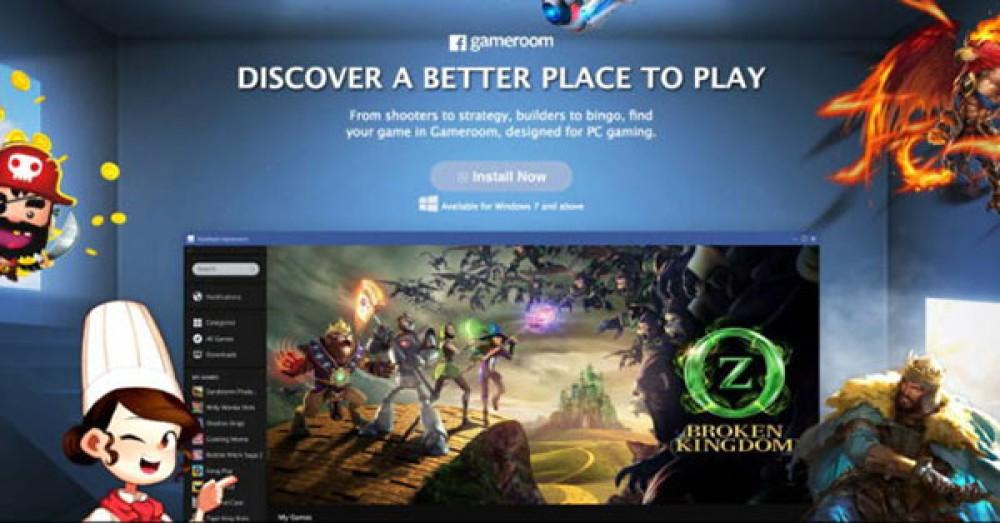Facebook Gameroom: Διαθέσιμη η πλατφόρμα gaming της εταιρείας για Windows PC [Video]