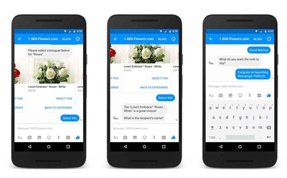 Η Facebook λανσάρει τα bots στο Facebook Messenger για αυτοματοποιημένη επικοινωνία [Video]