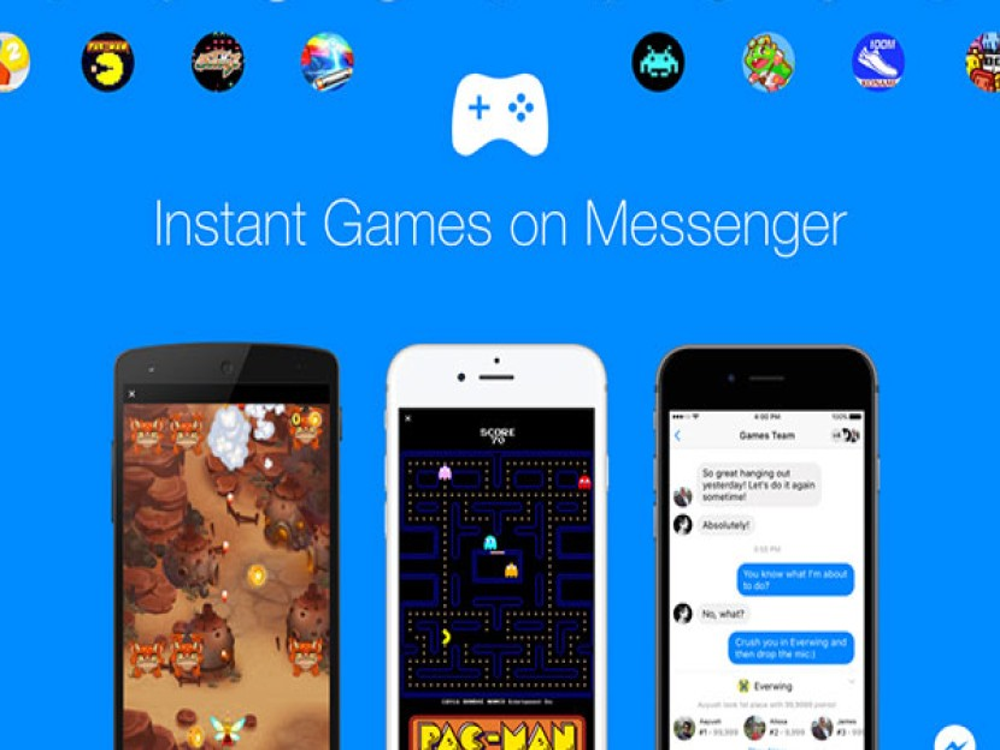 Παίξε Pac Man, Words with Friends κ.ά. παιχνίδια άμεσα από το Facebook Messenger! [Videos]
