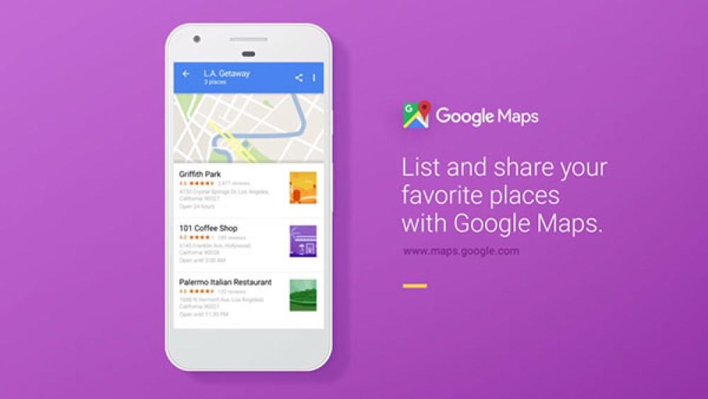 Google Maps: Νέα λειτουργία δημιουργίας και διαμοιρασμού λιστών με τις τοποθεσίες του χρήστη [Video]
