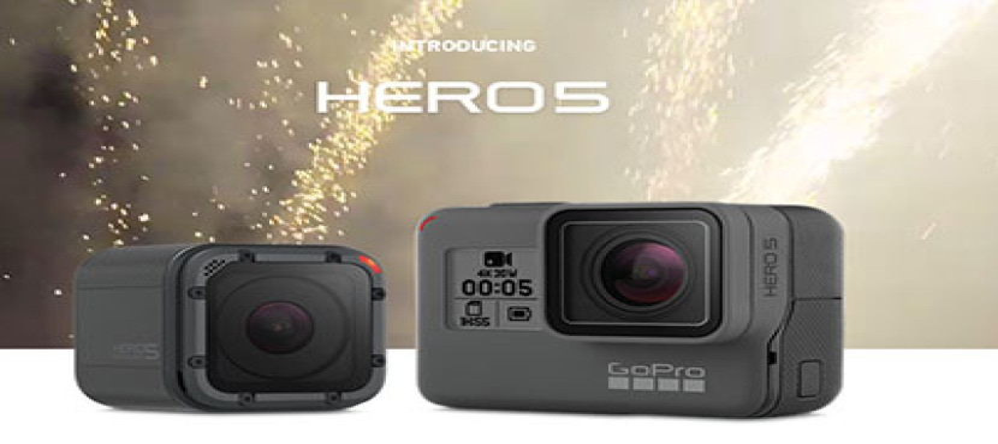 GoPro HERO5 Black και HERO5 Session: Οι νέες action κάμερες έρχονται με πολλές καινοτομίες [Videos]