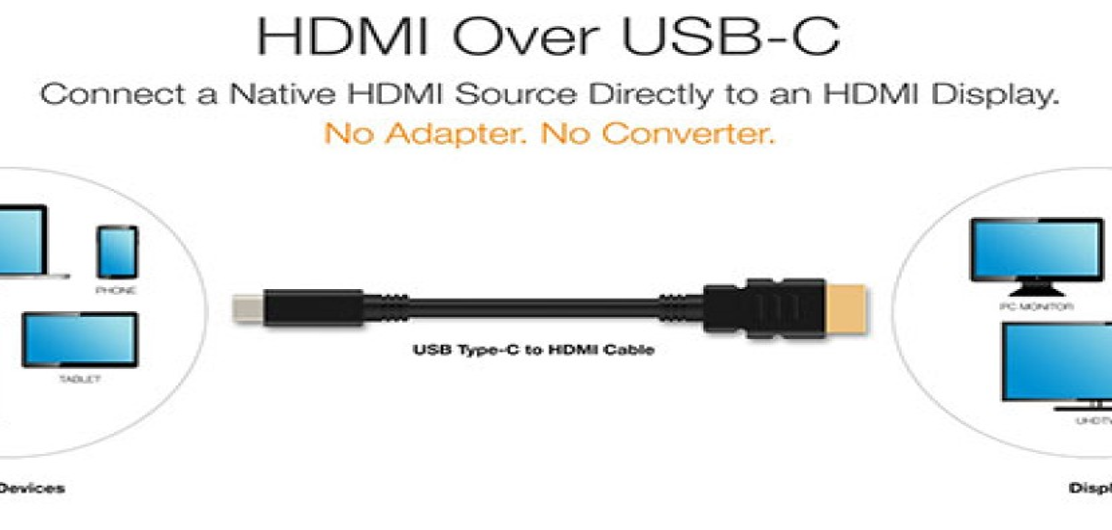 Έρχονται σύντομα καλώδια USB Type-C σε HDMI για απευθείας σύνδεση σε τηλεοράσεις και monitors