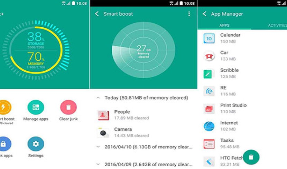 HTC Boost+: Διαθέσιμη η εφαρμογή για ενίσχυση της απόδοσης των Android smartphones