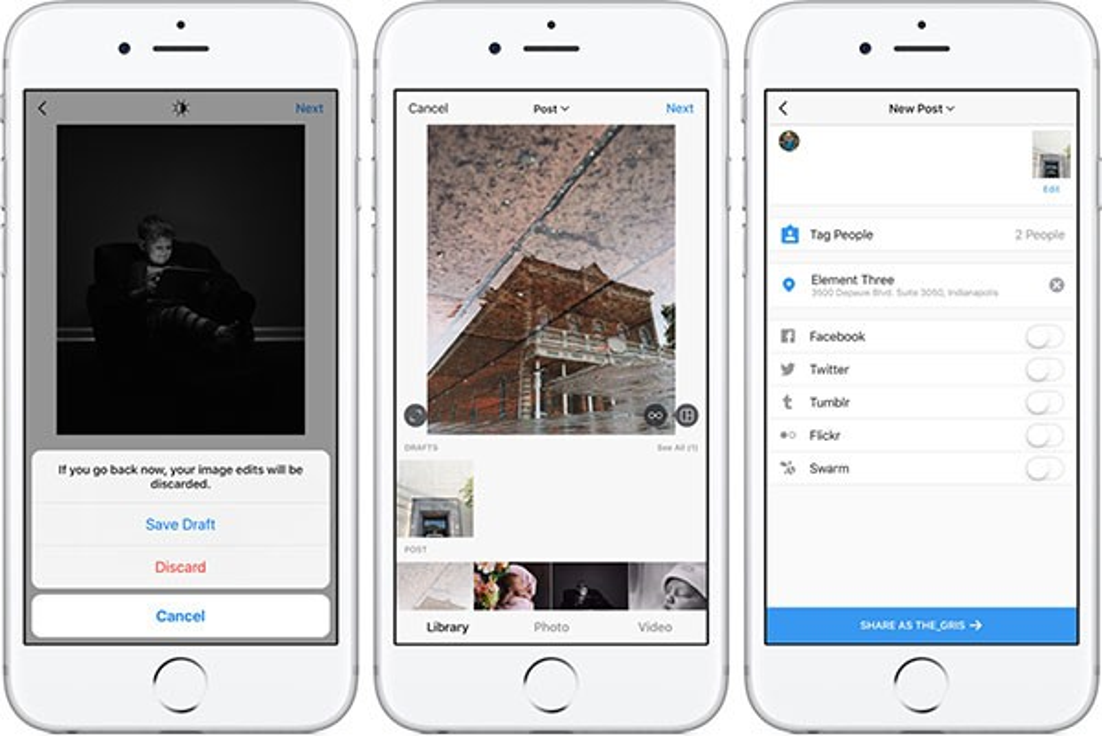 Instagram: Λανσάρει λειτουργία αποθήκευσης προσχεδίων (Save Draft) σε Android και iOS