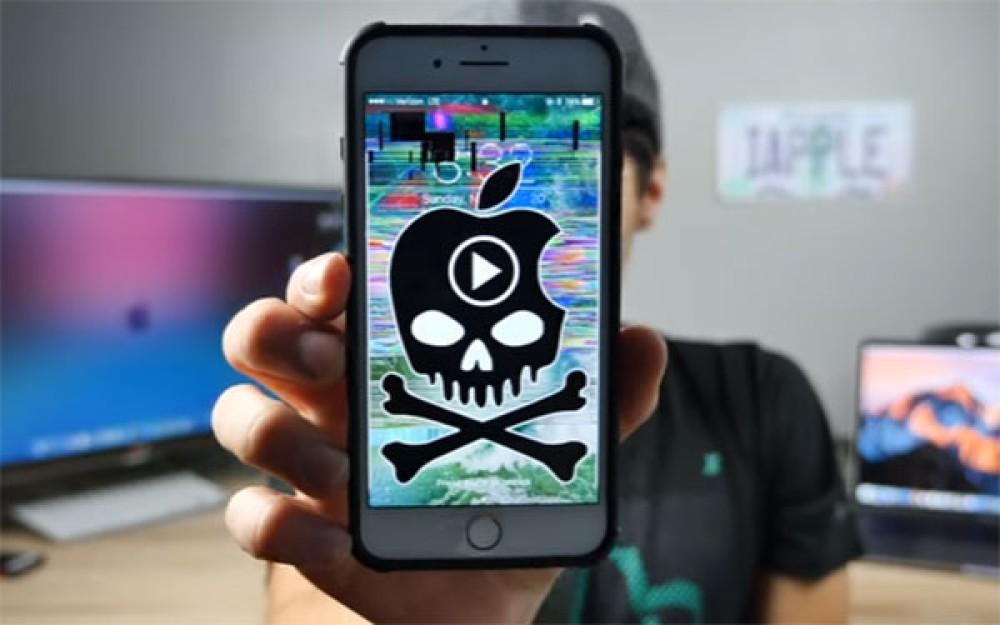 Προσοχή: Κυκλοφορεί βίντεο που μπορεί να κρασάρει το iPhone σου