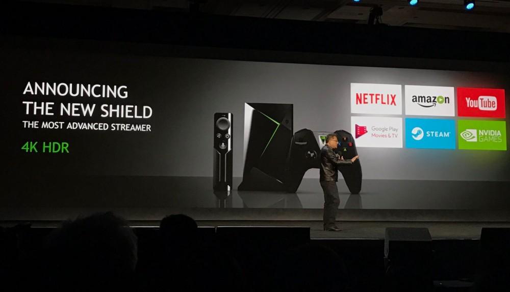 Νέο Nvidia Shield Android TV box με δυνατότητες 4K HDR, game streaming και Google Assistant [CES 2017]