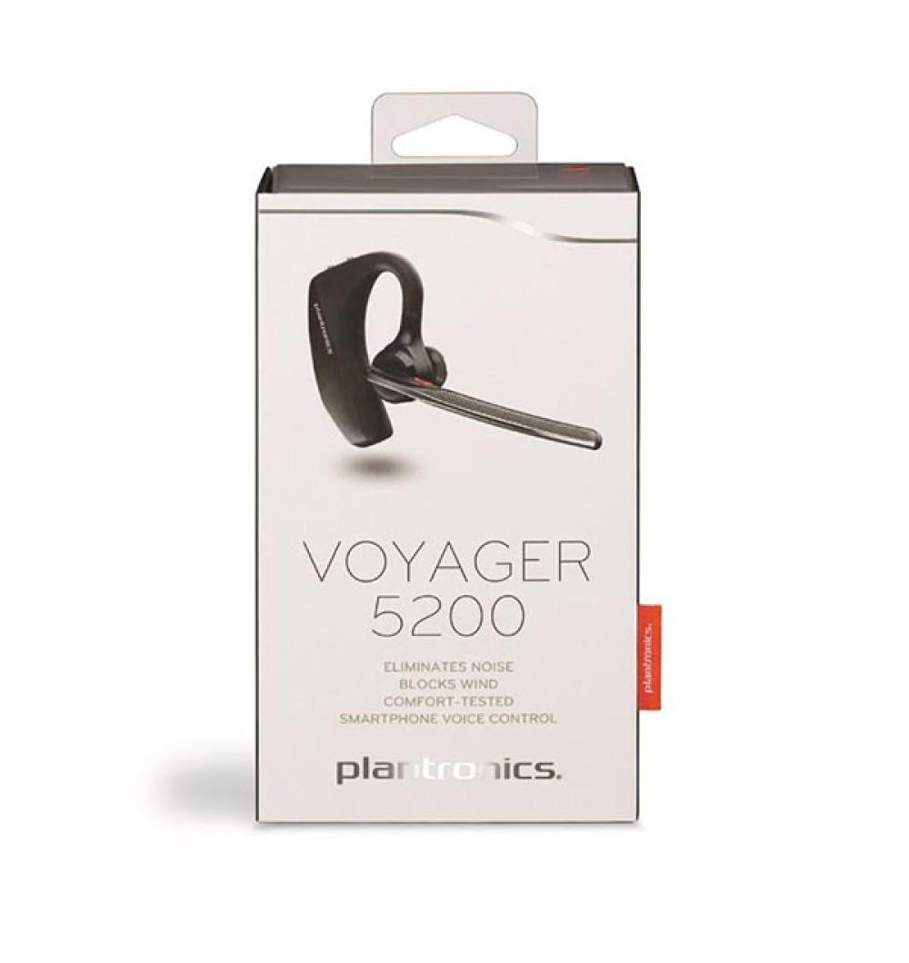 Plantronics Voyager 5200: Το νέο premium Bluetooth ακουστικό με τεχνολογία WindSmart