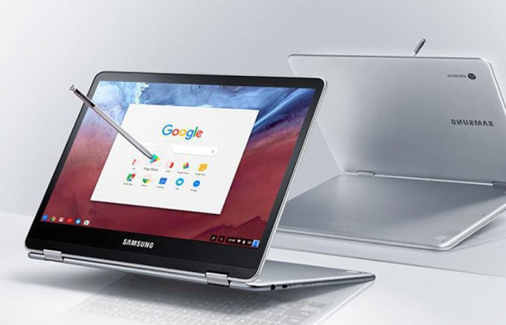 Samsung Chromebook Pro: Αναδιπλώμενο laptop/tablet με οθόνη 12.3'', γραφίδα, premium κατασκευή και εφαρμογές Android