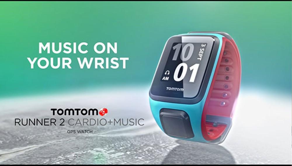 Γυμναστείτε στον ρυθμό της μουσικής, φορώντας το νέο TomTom Runner 2 στον καρπό σας [Videos]
