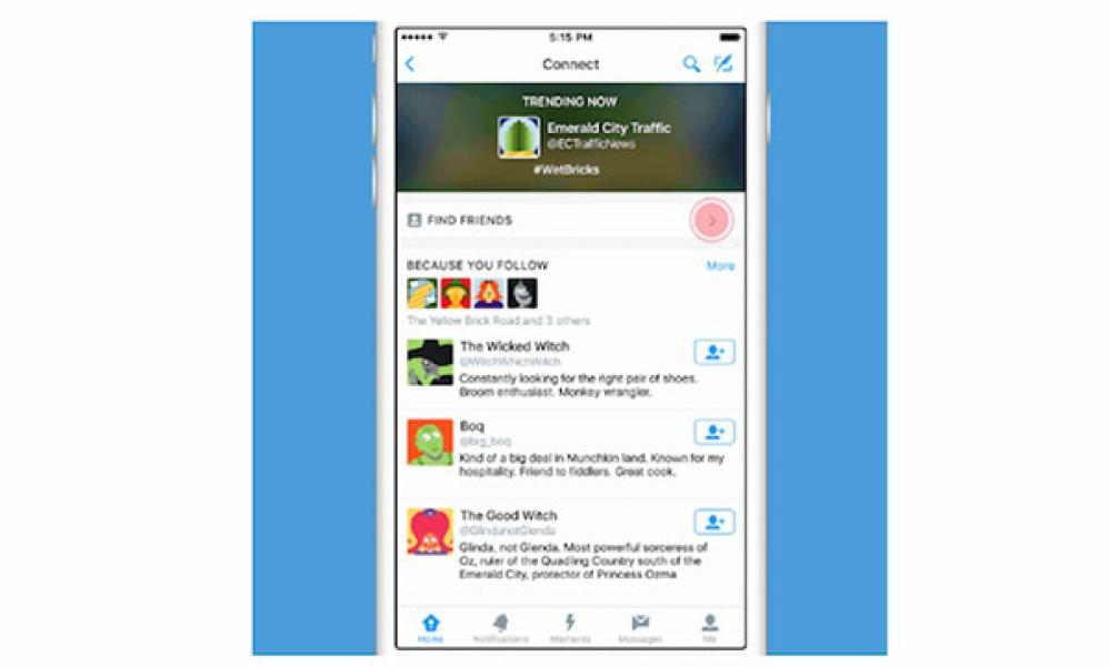 Twitter Connect Tab: Νέα καρτέλα για να βρίσκεις ποιους θα σε ενδιέφερε να ακολουθήσεις