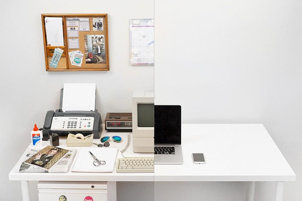 Η εξέλιξη του γραφείου από το 1981 μέχρι σήμερα παράλληλα με τους υπολογιστές [Video]