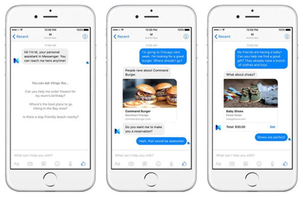 Facebook M: Επίσημη η νέα ψηφιακή βοηθός με επίβλεψη από πραγματικούς ανθρώπους