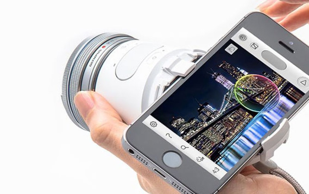 Olympus Air A01: Η νέα ασύρματη Micro Four Thirds κάμερα που τοποθετείται σε smartphones [Video]