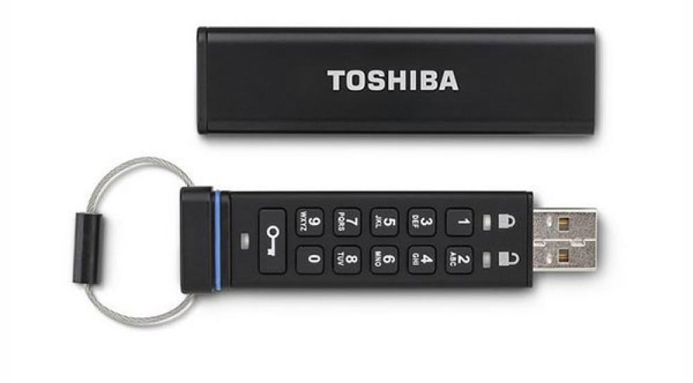 Toshiba Encrypted USB Flash Drive: Ένα flash drive με ενσωματωμένο keypad για αποκρυπτογράφηση των δεδομένων
