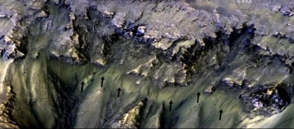 Η NASA επιβεβαίωσε την ύπαρξη νερού σε υγρή μορφή στον πλανήτη Άρη! [Video]