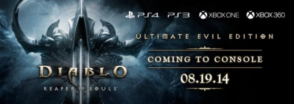 Diablo III: Ultimate Evil Edition, διαθέσιμο για PS3, PS4, Xbox 360 και Xbox One στις 19 Αυγούστου!