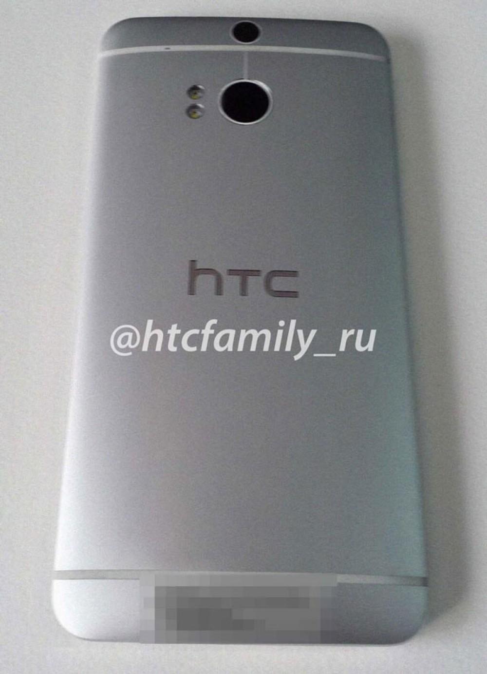 HTC One 2 (aka HTC M8): Η πρώτη φωτογραφία αποκαλύπτει διπλή κάμερα στο πίσω μέρος