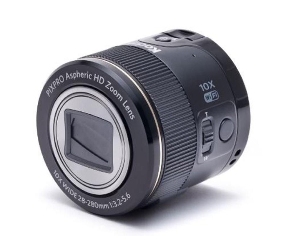 PixPro Smart Lens SL10 και SL25. Η οικονομική απάντηση της Kodak στους φακούς Sony QX10 και QX100.