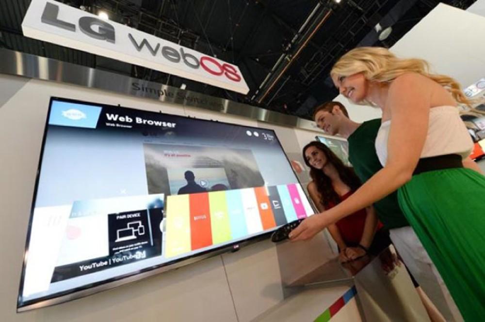 LG webOS TV, 105'' κυρτή 4K LCD και κυρτές OLED Ultra HDTVs στη CES 2014