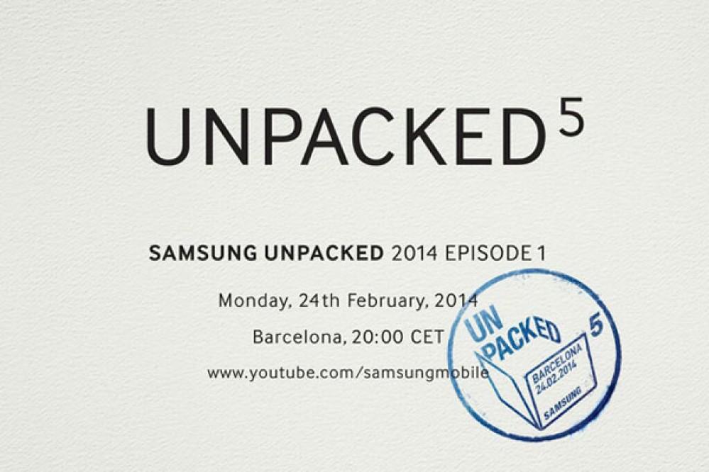 Εκδήλωση Samsung Unpacked στις 24 Φεβρουαρίου! Έρχεται το Galaxy S5 (;)