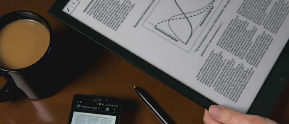 Sony Digital Paper: Το 13.3'' ψηφιακό χαρτί τεχνολογίας e-ink έρχεται το Μάιο σε τιμή...$1100 [Video]