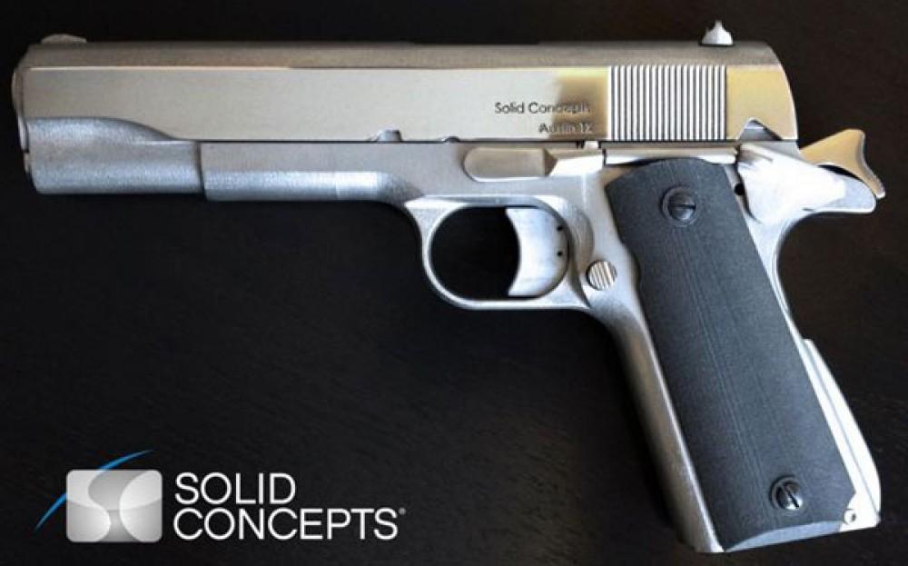 Το πρώτο 3D printed μεταλλικό (και ανθεκτικό) όπλο είναι γεγονός...[Video]