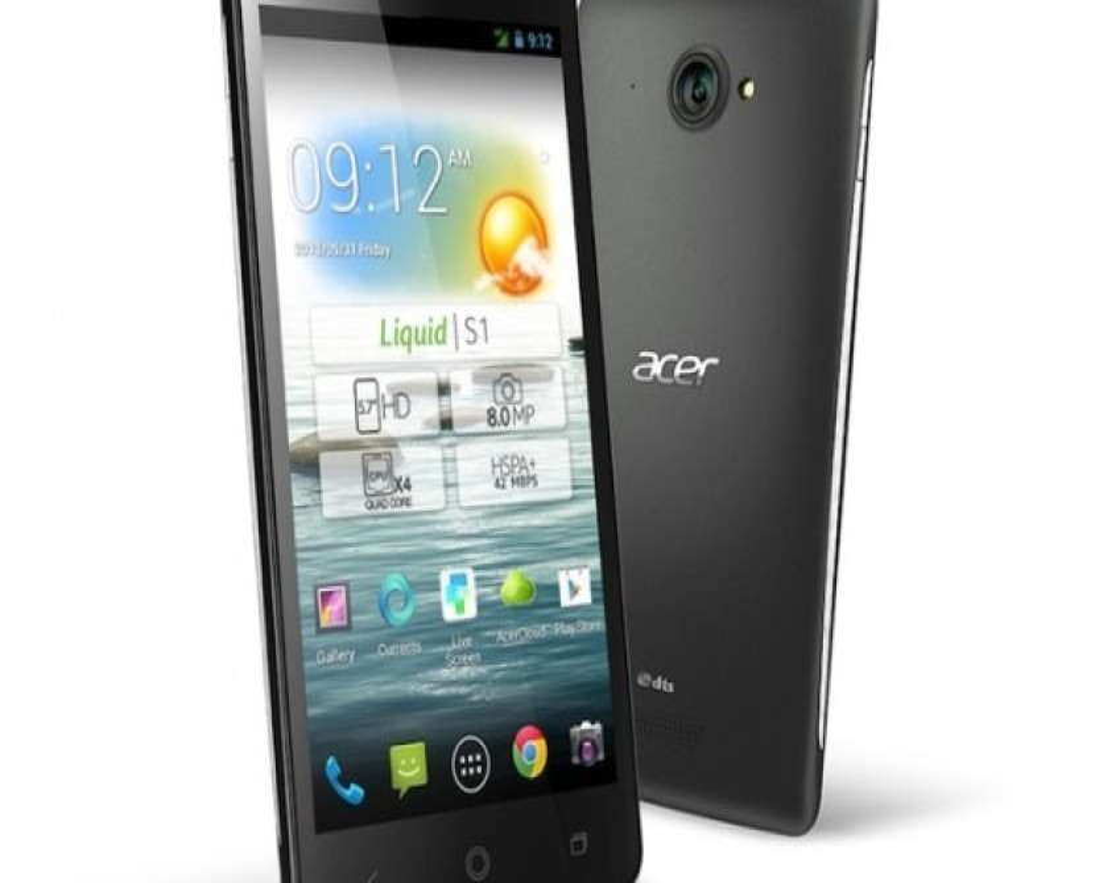 Acer Liquid S1, το πρώτο tabletphone της εταιρείας με οθόνη 5.7'' HD και Android 4.2 Jelly Bean [Computex 2013]