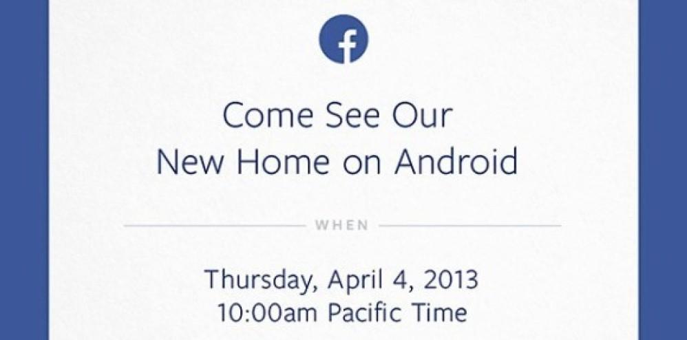 Νέα εκδήλωση της Facebook με θέμα το Android OS στις 4 Απριλίου