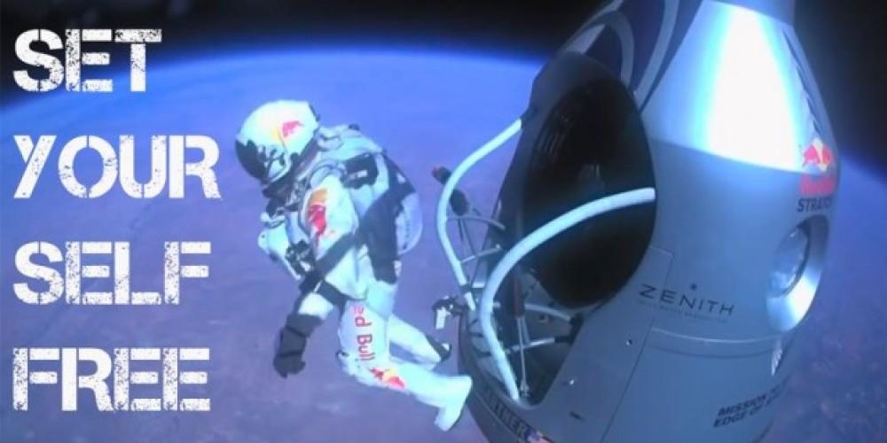 Red Bull Stratos: Η ελεύθερη πτώση του Felix Baumgartner από τη δική του ματιά [Video]