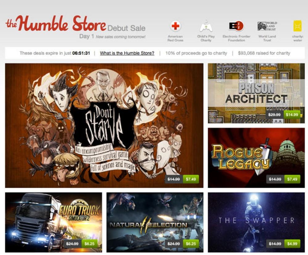 Εγκαίνια για το Humble Store, το κατάστημα παιχνιδιών με καθημερινές προσφορές και φιλανθρωπική δράση [Video]