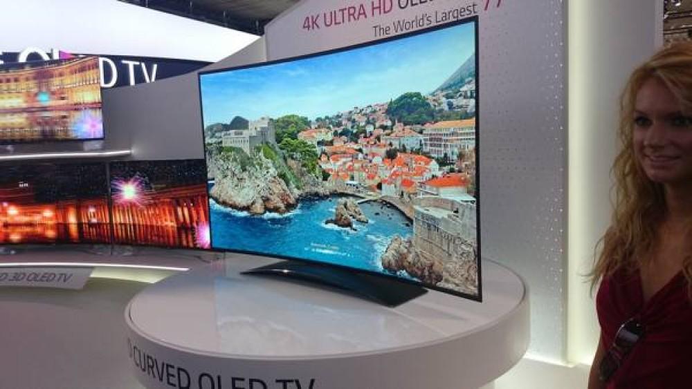 Η LG παρουσιάζει τη μεγαλύτερη κυρτή Ultra HD OLED TV στον κόσμο [IFA Berlin 2013]