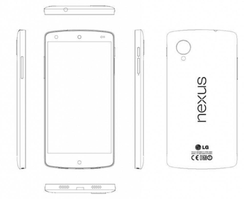 Nexus 5: Πλήρης αποκάλυψη από το service manual, με φωτογραφίες και τεχνικά χαρακτηριστικά!